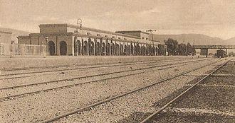 Kohat - Railway station in 1900