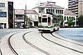 Kumamoto City tram, Kumamoto, Japan; September 2015.jpg