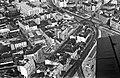 Légifotó Budáról. A kép középpontjában a Fény utcai piac, jobbra a Széll Kálmán (Moszkva) tér, fenn a Széna tér. Fortepan 18262.jpg