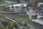 Löbau - Blick vom Löbauer Berg - Fichtenstraße-Eliesenstraße-Weißenberger Straße-Bahngelände.jpg