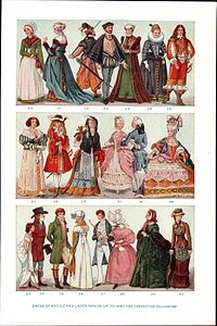 History of Western fashion - Wikipedia, the free encyclopedia
