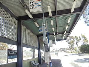 El Monte Busway - Image: LAC & USC Med. Center Metro Silver Line Station 3