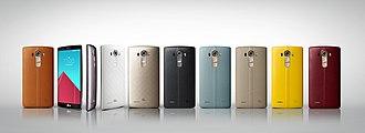 LG Electronics - LG G4 range