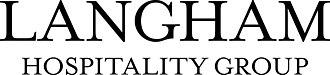 Langham Hospitality Group - Image: LHG EN logo BW