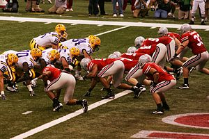 Bowl Championship Series - LSU vs. Ohio State in the 2008 BCS National Championship Game