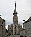 La Grande Traversée de la Forêt du Pays de Chimay (DSC 0808) Church of Treignes in Belgium.jpg