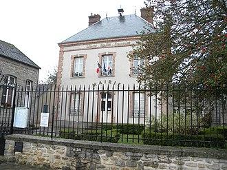 Arbonne-la-Forêt - The town hall in Arbonne-la-Forêt