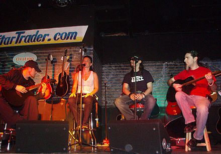 Lacuna Coil performing in San Diego Lacuna Coil acoustic.jpg