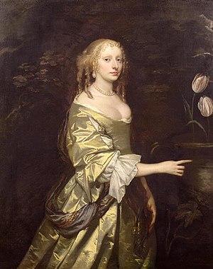 Elizabeth Wilbraham - Elizabeth Lady Wilbraham - by Sir Peter Lely.