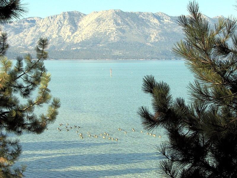 File:Lake Tahoe, Lake Tahoe Boulevard, South Lake Tahoe, CA.jpg
