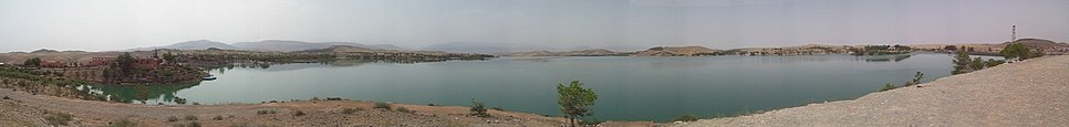 Lake of Barrage Couvagnac Panoramic