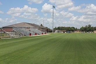 Lamar Soccer Complex - Soccer Complex - View toward the grandstands