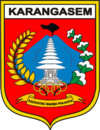 Official seal of Karangasem Regency
