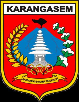 Karangasem Regency - Image: Lambang Kabupaten Karangasem