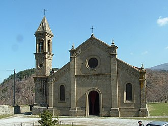 Montelaterone - The old pieve of Santa Maria a Lamula