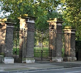 Lancaster Gate - The Lancaster Gate of Kensington Gardens