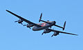 Lancaster bomber over Cowes in May 2013.jpg