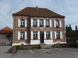 Landrethun-lès-Ardres (Pas-de-Calais) mairie.JPG