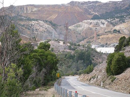 Landscape near Queenstown, Tasmania