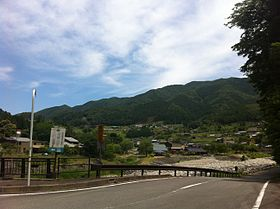 Landscape of the Maze district,Gero city,Gifu prefecture.Japan.jpg