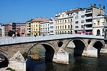 Latin (Princip) Bridge on Miljacka River2.jpg