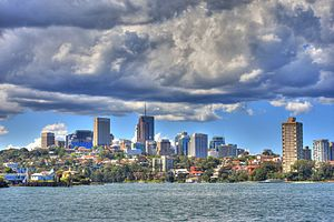North Sydney, New South Wales - North Sydney skyline
