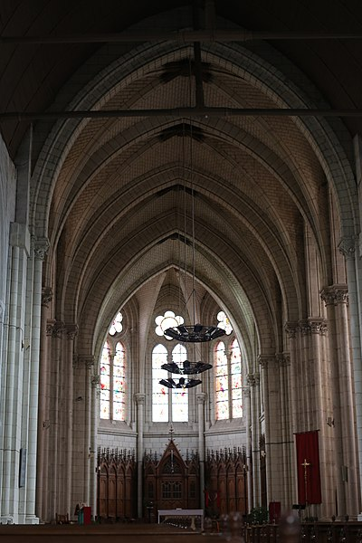 Église Saint-Martin du Lion-d'Angers.