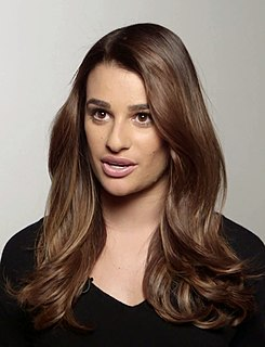 Lea Michele American actress, singer and author