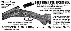 "Lefever Arms Company - Lefever Arms Company - Advertisement ""Ejector Gun"" - 1896"