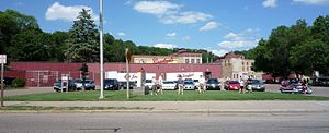Chippewa Falls, Wisconsin - Jacob Leinenkugel Brewing Company brewery.