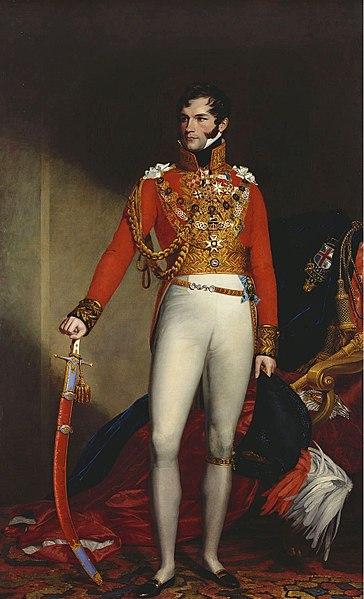 Leopoldo I, rey de los belgas.