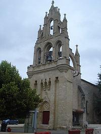 Les Lèves (Gironde, Fr), l'église.JPG