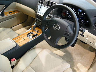 Lexus IS (XE20) - 2007 Lexus IS 350 interior (GSE21; Japan)