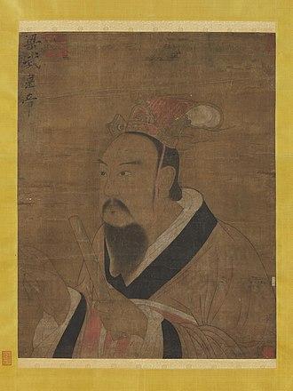 Emperor Wu of Liang - Image: Liang Wudi