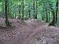 Libčice nad Vltavou, cesta od hřbitova k Dolanům.jpg