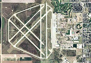Liberal Mid-America Regional Airport - USGS 2006 orthophoto