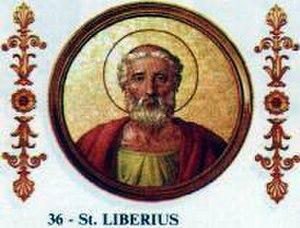 Papal renunciation - Image: Liberius