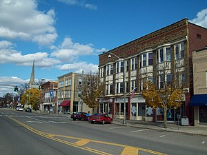 Liberty St Historic District Bath NY Oct 09.JPG