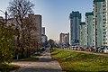 Lieanida Biady street and Uschodni lane (Minsk) 4.jpg