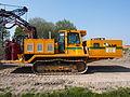 Liebherr SR714 welding tractor at Hoofddorp welding gaspipes, pic4.JPG
