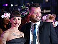 Life Ball 2014 red carpet 088 Christina Perri Ricky Martin.jpg