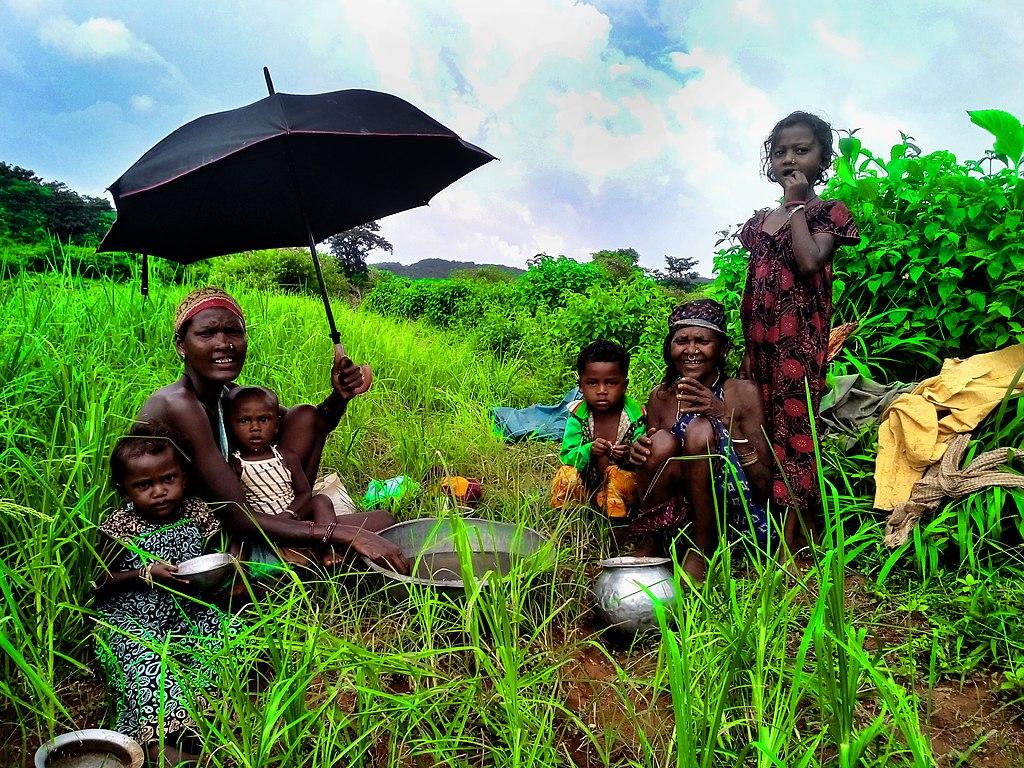 Koraput tribe during monsoon