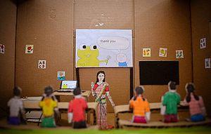 Light of Hope - Image: Light of Hope classroom