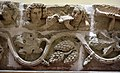 Limestone frieze of showing musicians and vines, from Hatra, Iraq. 2nd-3rd century CE. Iraq Museum.jpg