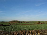 Farmland in Lincolnshire.