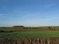 Farmland in Lincolnshire.
