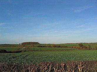 Lincolnshire - Lincolnshire farmland near Burton Coggles