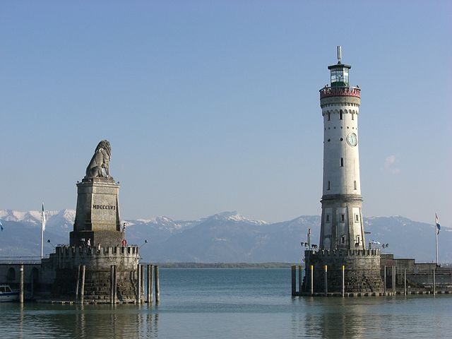 Lindau Lighthouse, Bavaria