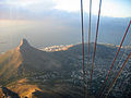 Lion's Head view as seen from Table Mountain cable car.jpg