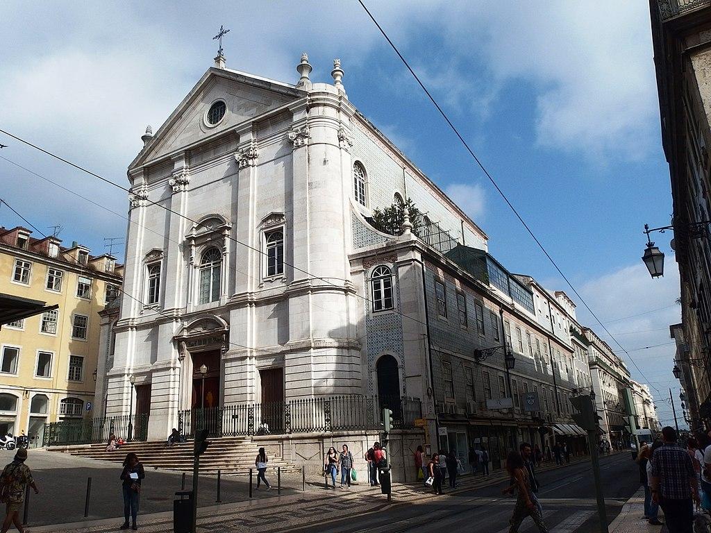 Eglise Igreja São Nicolau de Lisbonne - Photo de Palickap